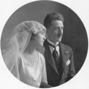 El general y su esposa Gertrudis Lasaga (Tulita)